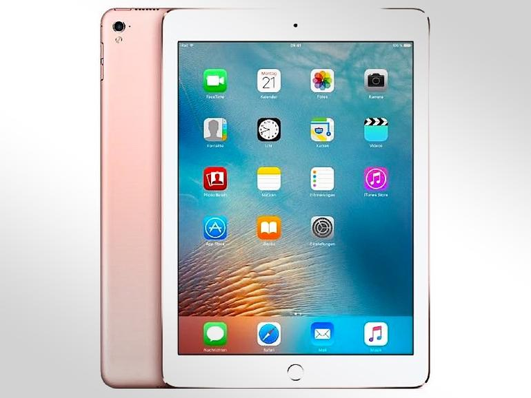 iPad Pro 9,7 Zoll in Roségold