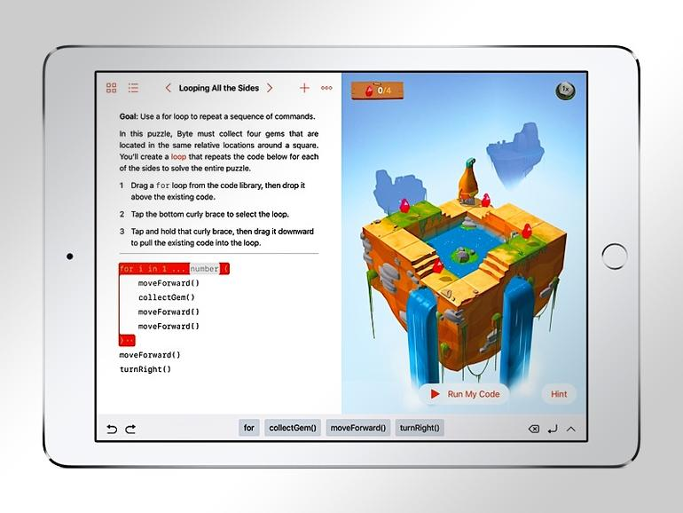 Swift Playgrounds auf dem iPad
