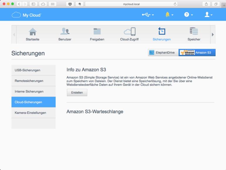 Amazon Web Services (AWS) bieten auch die Speicherung von Kundendaten
