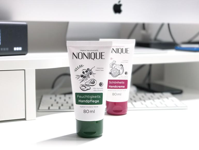 "Nonique: ""Touchscreen-kompatible"" Handcreme ausprobiert"