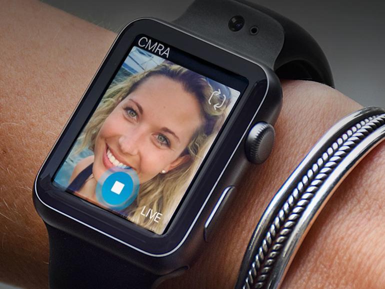 Uhrarmband mit Kamera