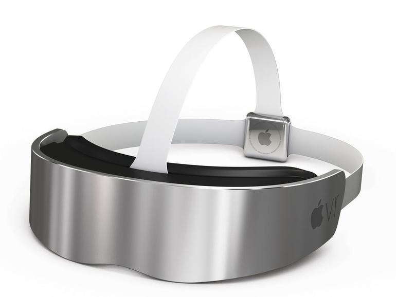 Könnte so ein VR-Headset von Apple ausschauen?