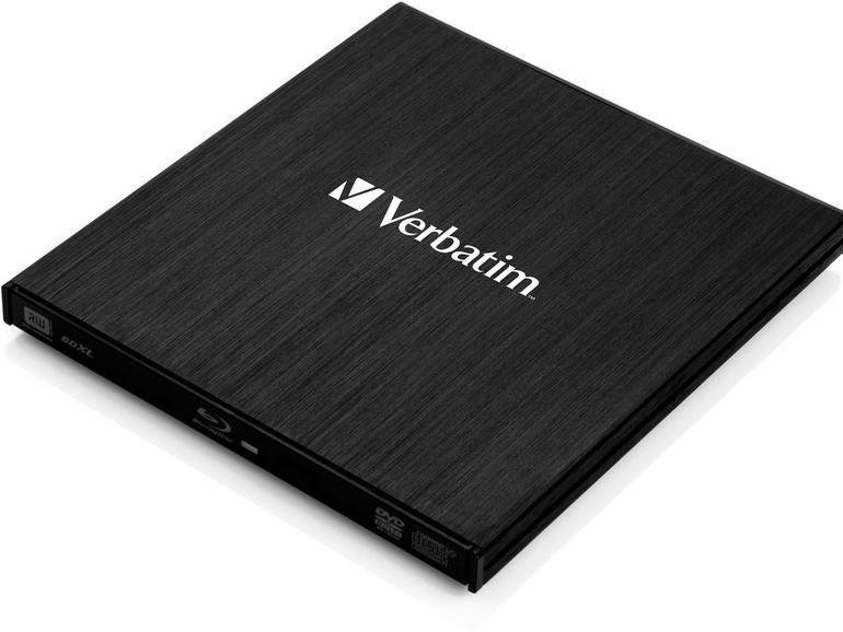 Verbatim Slimline externer Blu-ray-Brenner
