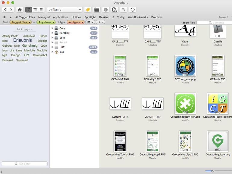 Screenshot aus Leap