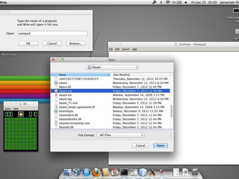 Wine 2 0 für Mac veröffentlicht, mit 64-bit-Windows- und