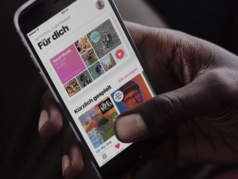 Apple Music mit Problemen
