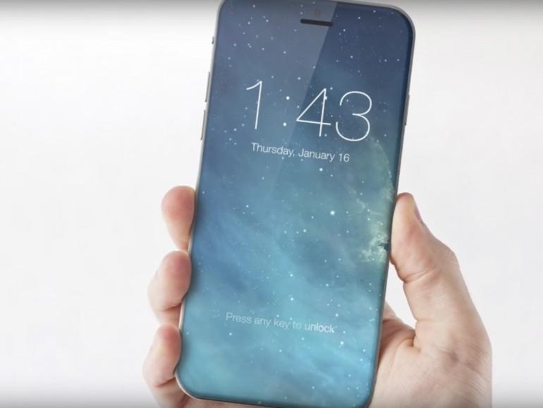 Konzeptbild für das iPhone 8