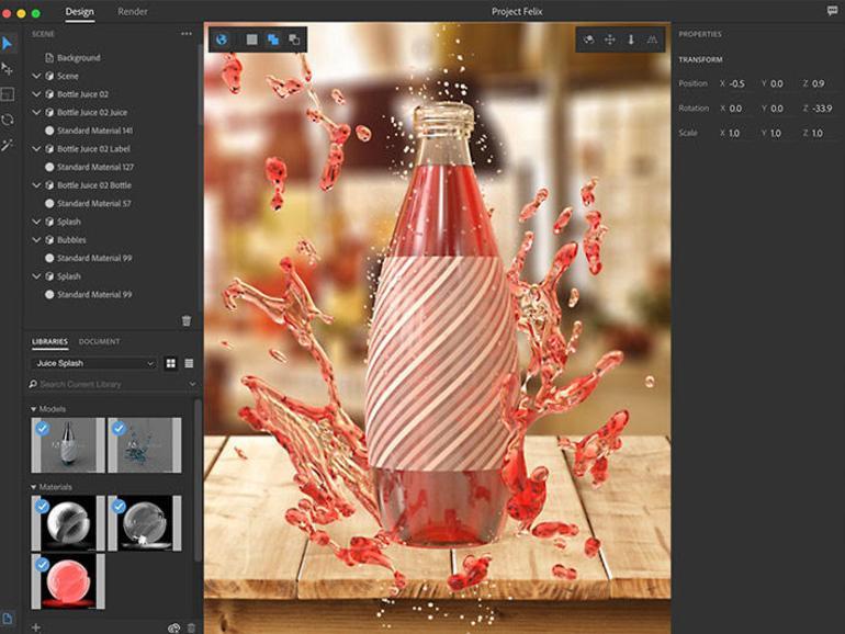 Project Felix ermöglicht 3D-Design für Nicht-Spezialisten.