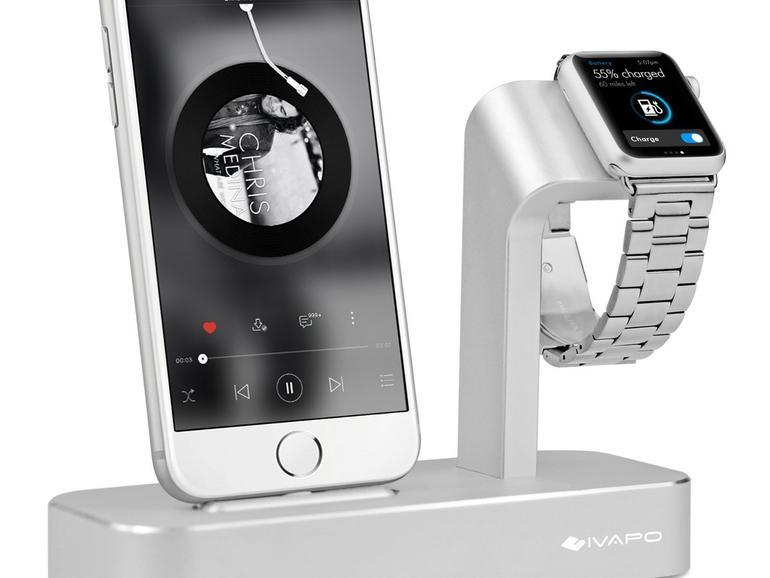 iVAPO Ladestation für iPhone und Apple Watch