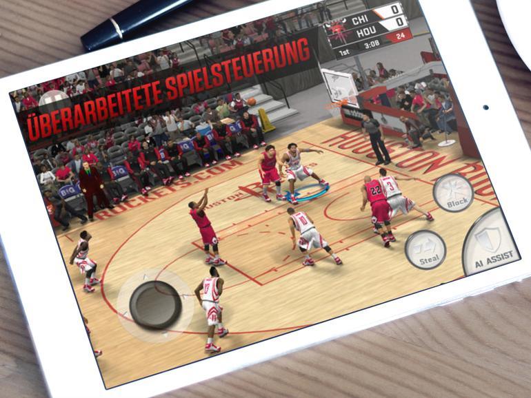 NBA 2K17 auf dem iPad
