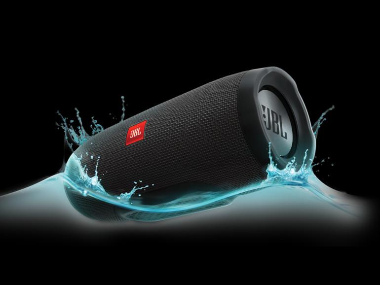 JBL Charge 3, wasserdichter Bluetooth-Lautsprecher