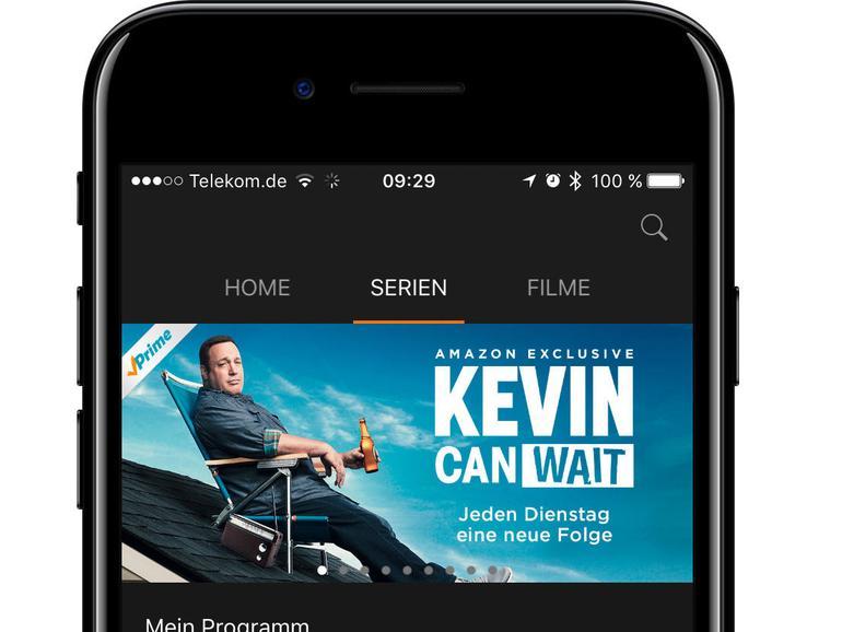 Apps für Amazon Prime, Audible oder auch Spotify gibt es natürlich auch für iOS.