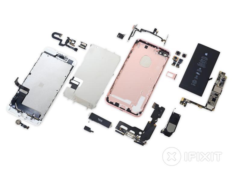 So sieht das iPhone 7 Plus von innen aus - das iPhone 8 wird sich erst noch zeigen