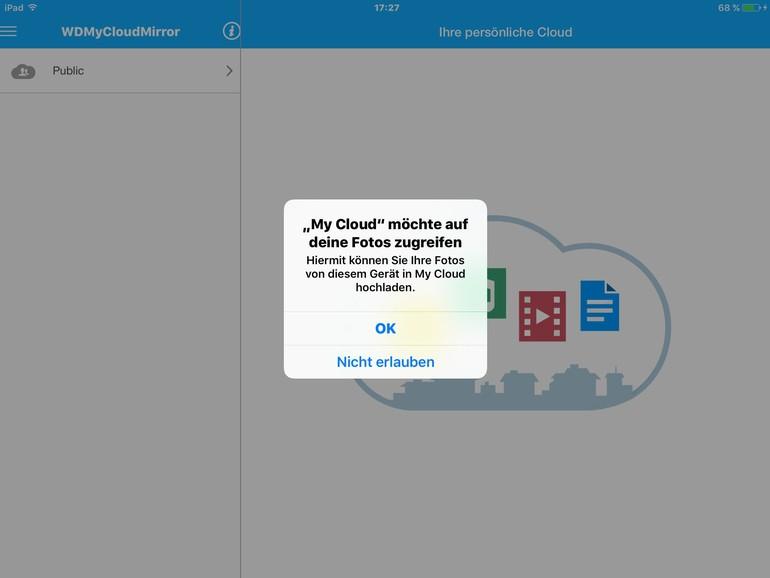 Mobiles Backup: Unterwegs Fotos auf die My Cloud sichern