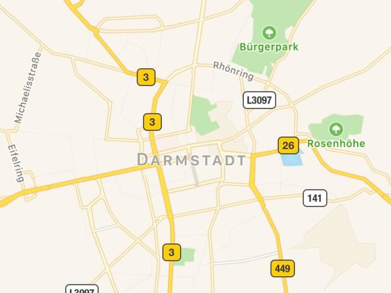 Screenshot aus Cyclemeter GPS