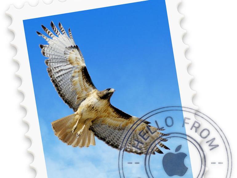 Passen Sie bei Apple Mail die Symbolleiste an Ihre Wünsche an.