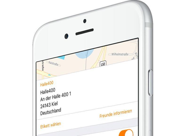 1) Freunde-App starten
