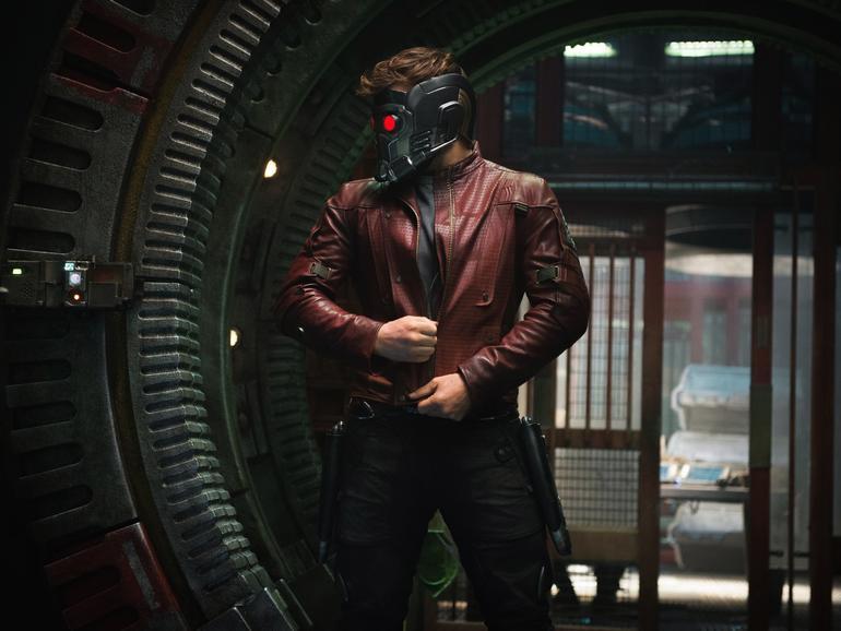 Star-Lord mit Helm