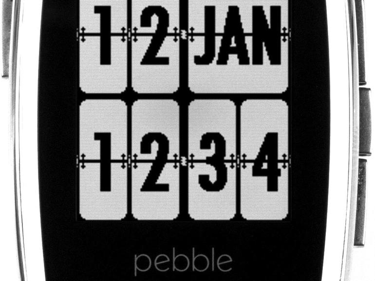 2014: Pebble kontert wenig später mit der eleganten Pebble Steel …