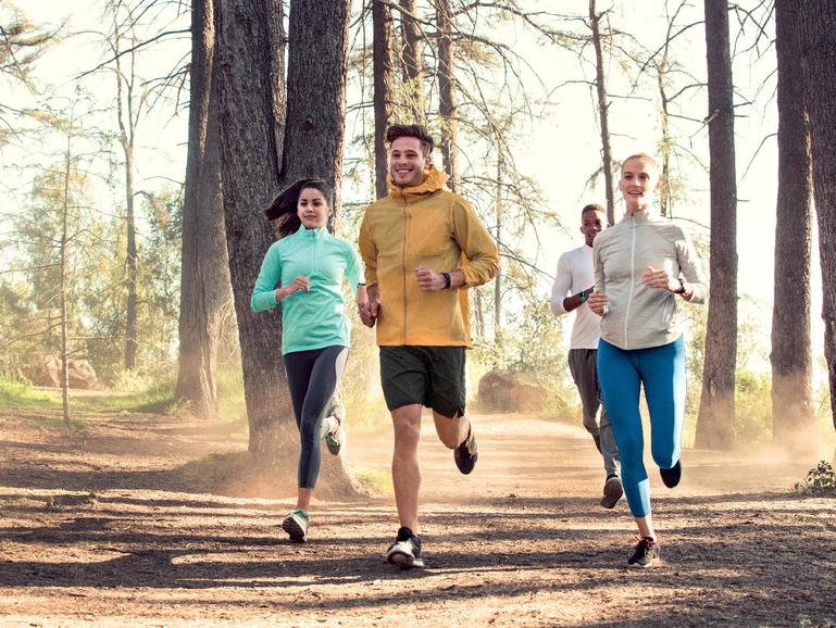 Fitbit Charge 2 beim Joggen