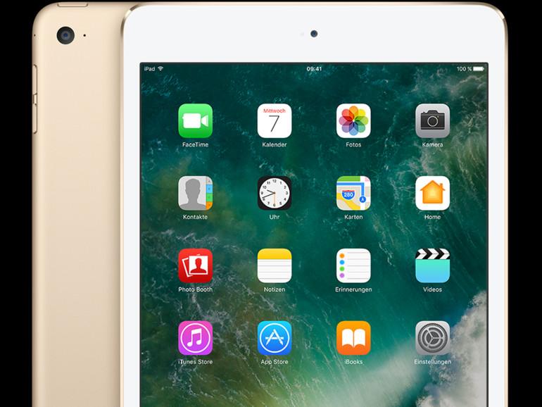 iPad mini 4 in Gold
