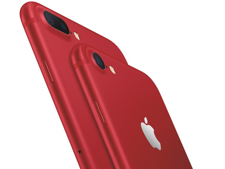 iPhone 7 und iPhone 7 Plus in der (PRODUCT)RED-Edition