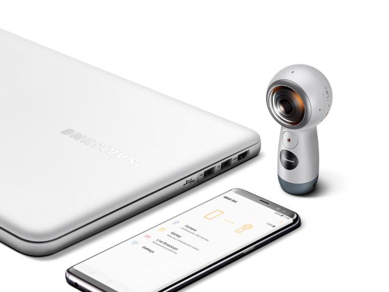 Fin Samsungs Kamera Gear 360 ist mit dem iPhone kompatibel | Mac Life MZ-04