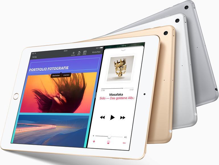 Deutlich helleres Display beim neuen iPad