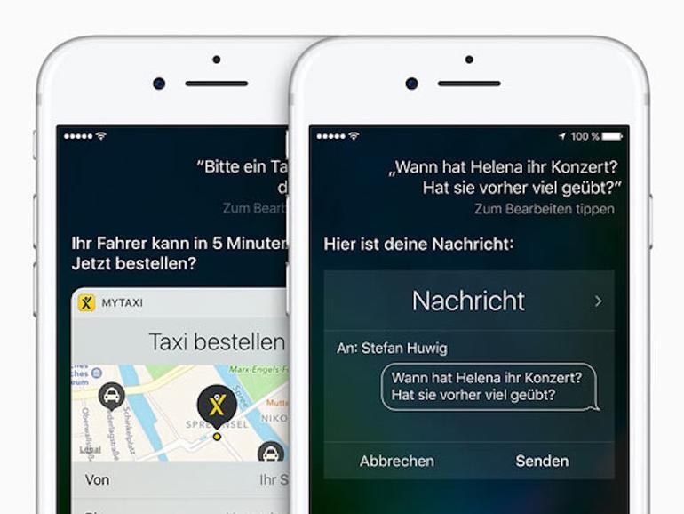Hört Siri bald nur noch auf eine Stimme?