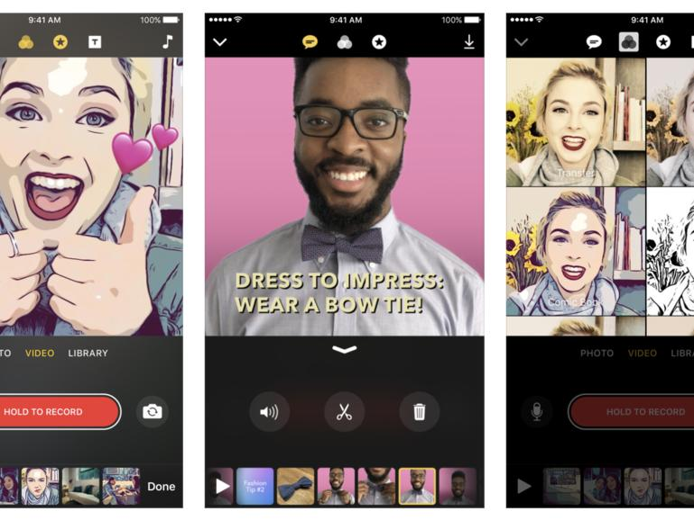 Apples Clips-App ist seit gestern verfügbar