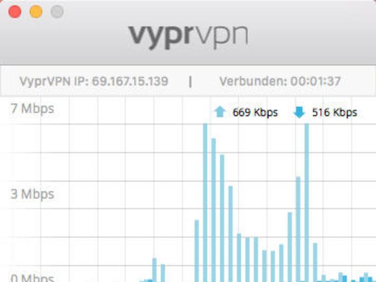 """Die Desktop-App von VyprVPN bietet die Option """"Kill Switch"""". Die Option verhindert Internetverbindungen, wenn VPN nicht aktiv ist."""