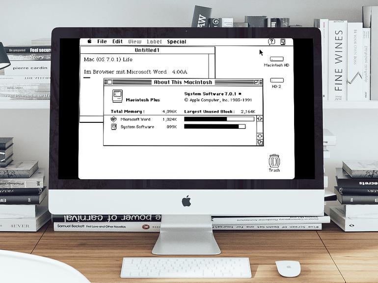 Altes Mac OS 6 im Browser ausprobieren