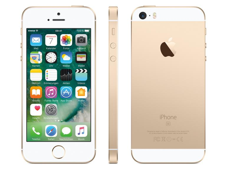 iPhone SE in Gold