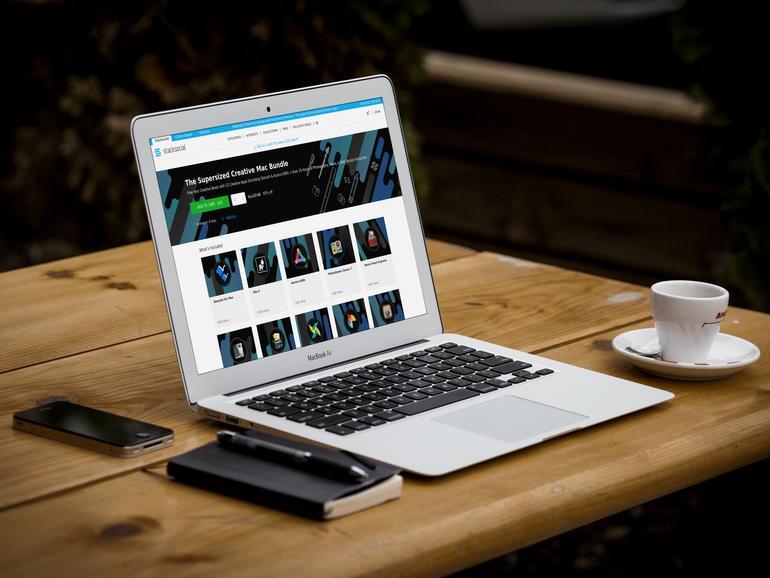"""""""Supersized Creative Mac Bundle"""": Paket mit Apps und Kursmaterial"""