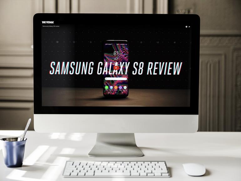 Testbericht zum Samsung Galaxy S8 von The Verge