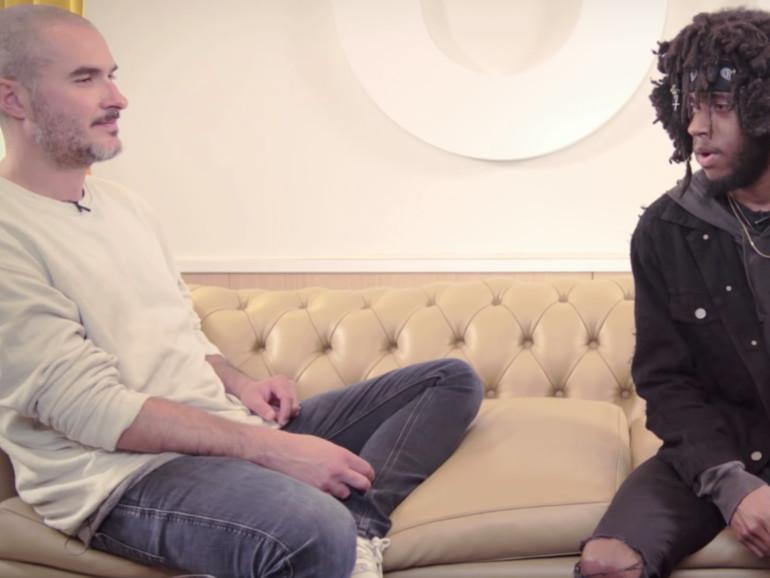 """""""Beats 1""""-DJ Zane Lowe im Interview mit 6LACK"""