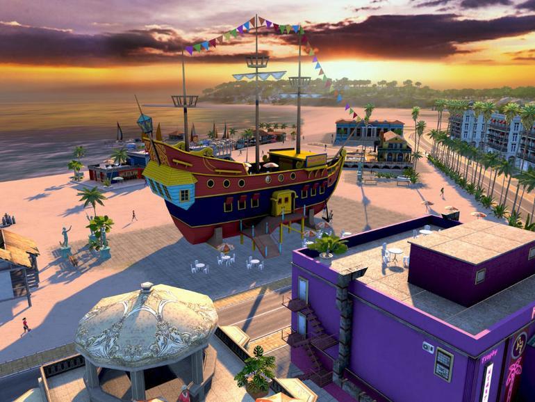 Screenshot aus Tropico 4