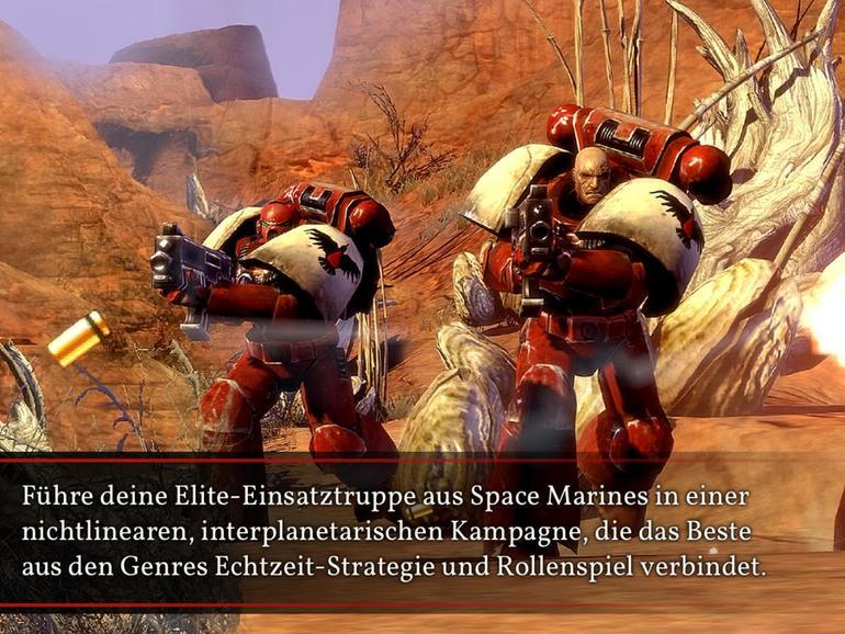 Screenshot aus Warhammer 40.000: Dawn of War II