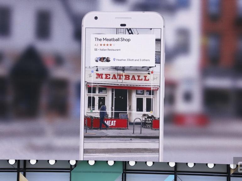Google Lens, die neue AR-KI erkennt Ihre Umgebung durch die Kameralinse