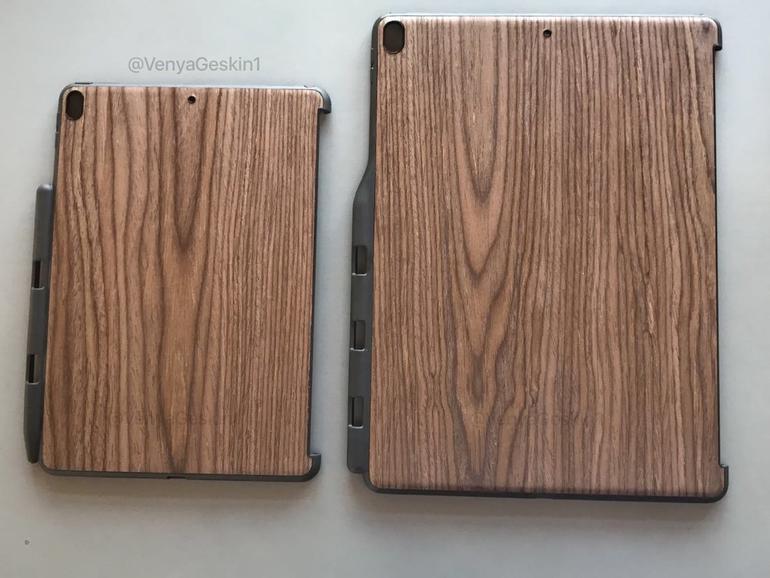 Schicke Schutzhüllen sollen angeblich für das neue iPad Pro 10,5 und 12,9 sein