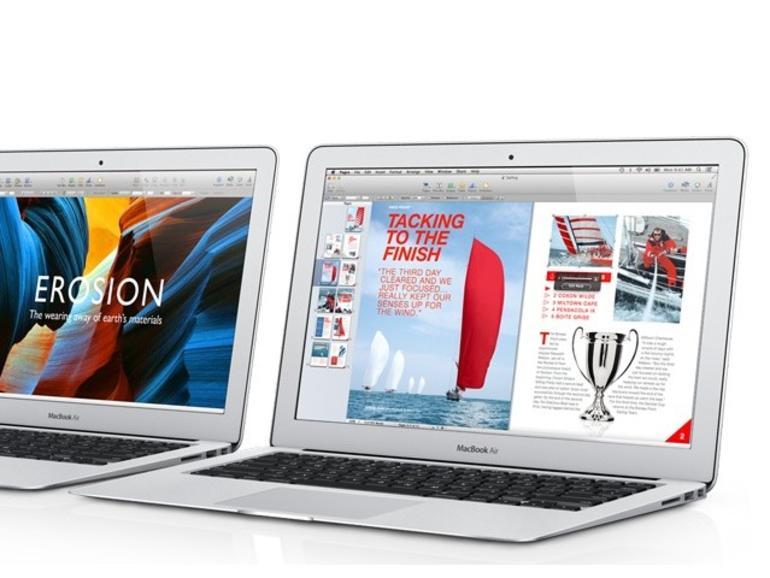 Zwei ältere MacBook Air