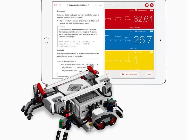 Swift Playgrounds Lässt Programmieranfänger Lego Roboter Steuern