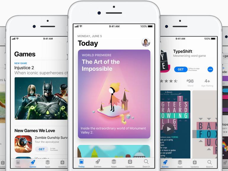 WWDC 2017: iOS 11 bringt neuen App Store