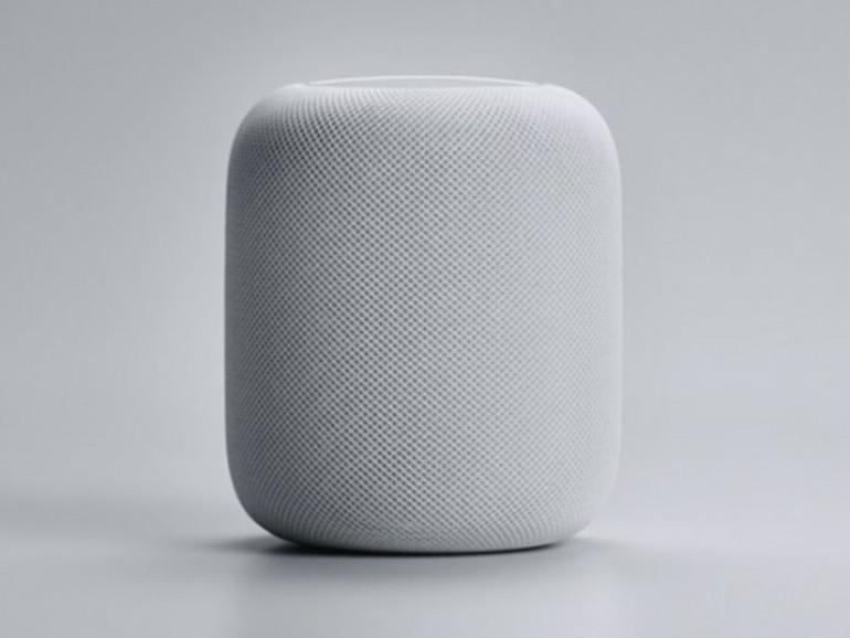 HomePod in Weiß