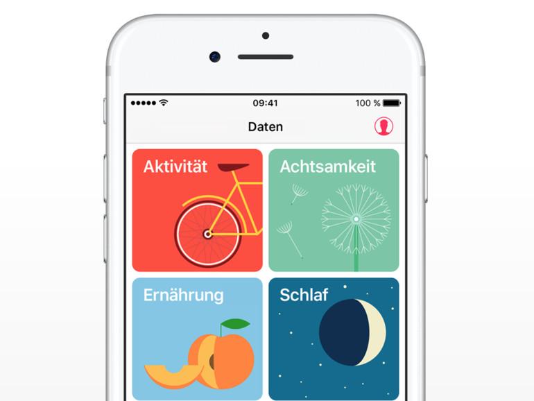 Die Health-App könnte bald alle wichtigen Gesundheitsdaten bereithalten