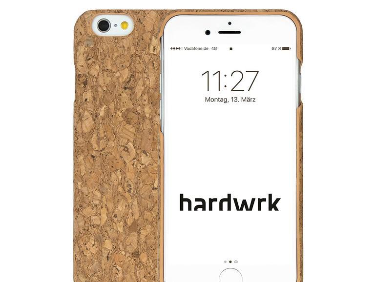 hardwrk Premium Kork Case für das iPhone: Zur Markteinführung mit Rabatt satt