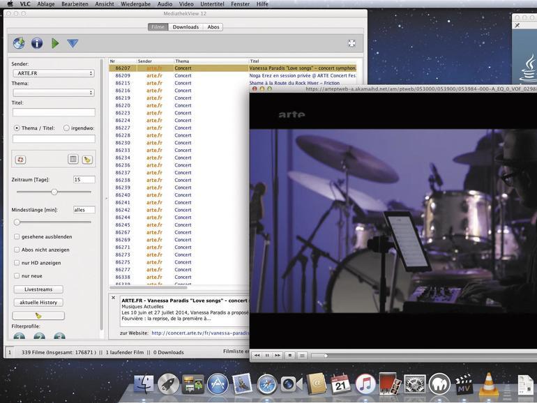 Mediathek View hebt die Schätze aus den Mediatheken der öffentlich-rechtlichen Sender auf die heimische Festplatte.