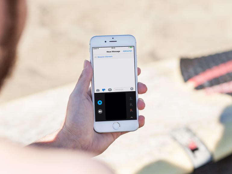 Mit iMessage lassen sich mehr als nur Text-, Foto- und Videonachrichten versenden