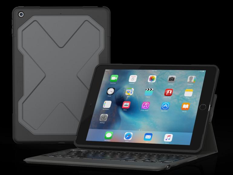 unkaputtbare bluetooth keyboard f r das neue ipad mac life. Black Bedroom Furniture Sets. Home Design Ideas
