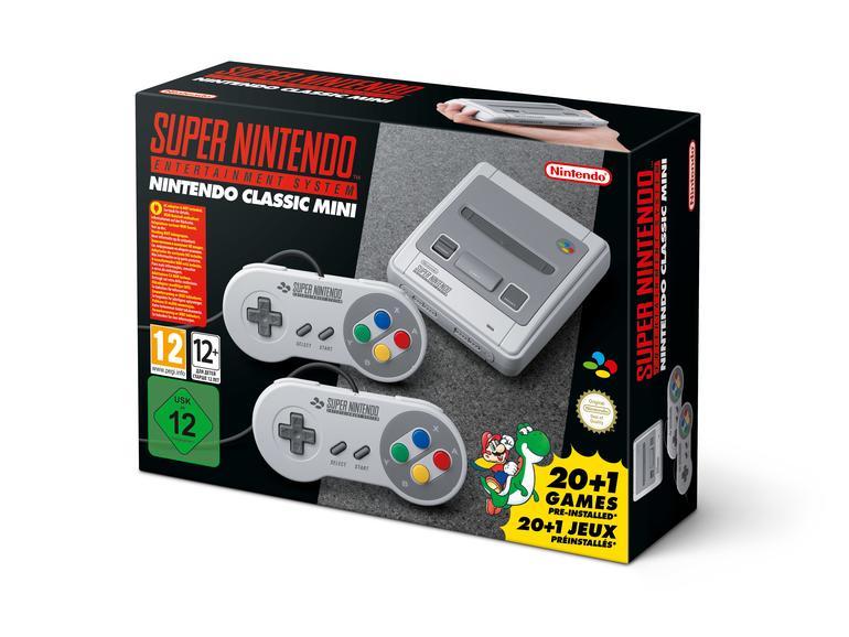 Das Nintendo Classic Mini: Super Nintendo Entertainment System